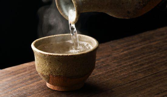 日本酒の温度