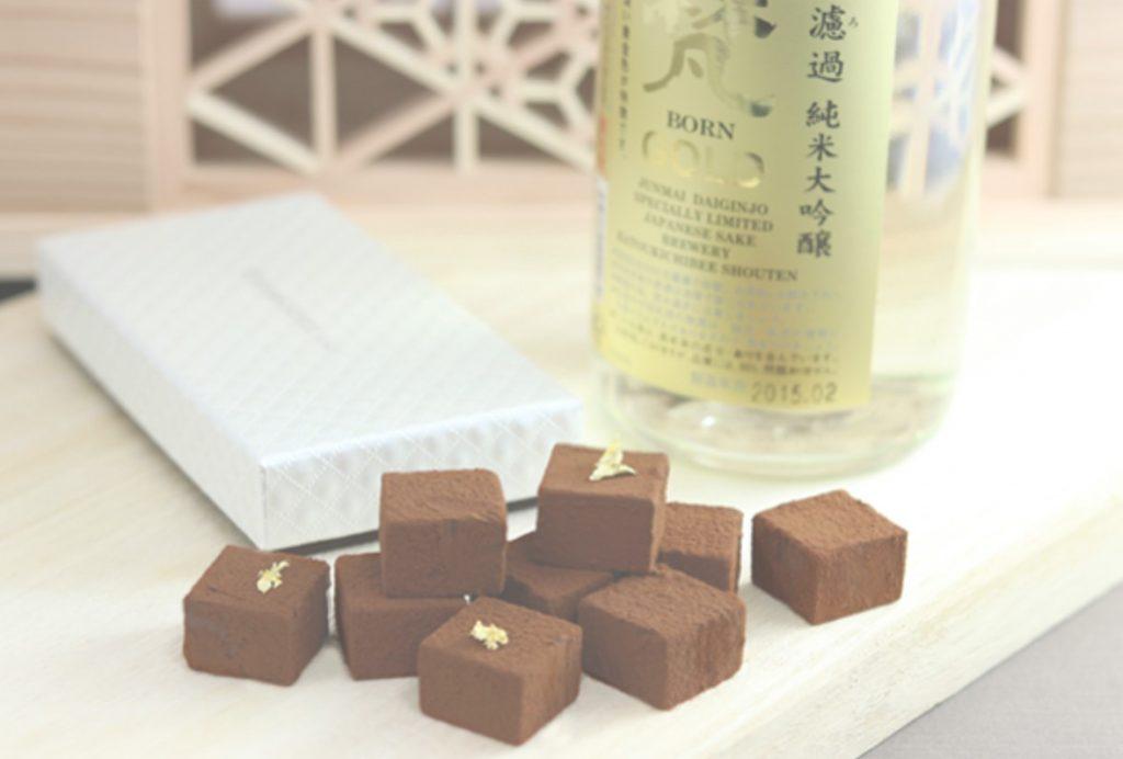 梵ゴールドチョコレート