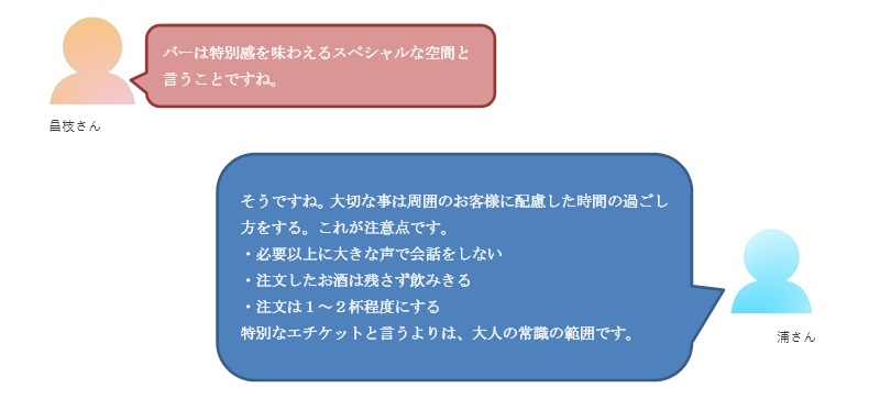 バー初心者会話5-2
