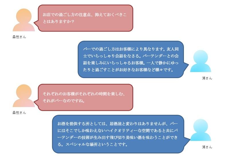 バー初心者会話5-1