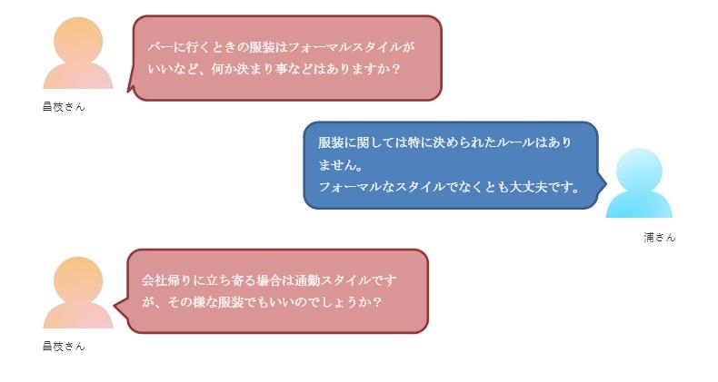 バー初心者会話4-1