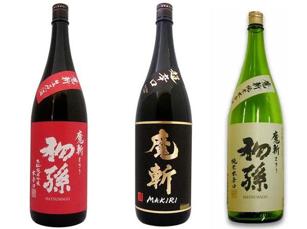 日本酒3本