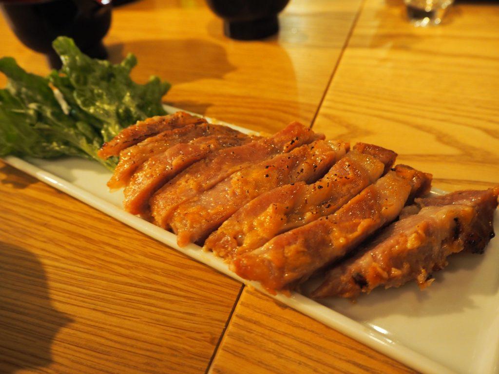 味噌豚焼き