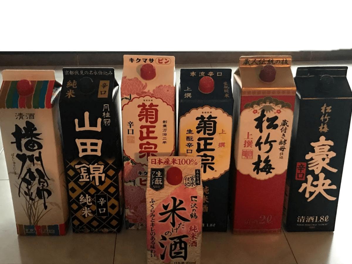 パック日本酒