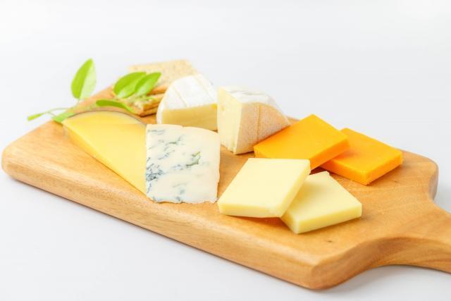 熟成感のあるチーズは好相性