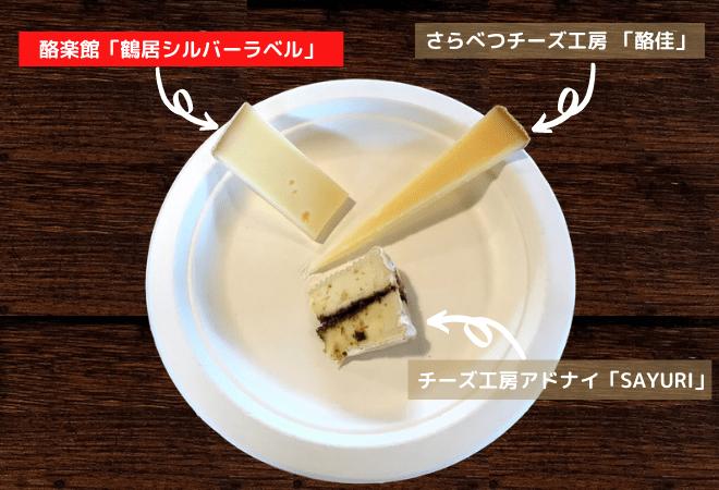 鶴居村のナチュラルチーズ「鶴居シルバーラベル」
