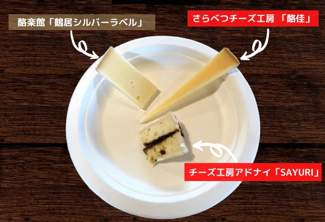「酪佳」&「チーズ工房アドナイ SAYURI」