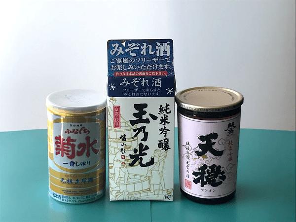 みぞれ酒用 日本酒画像