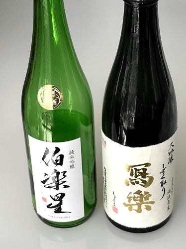 720mlサイズの日本酒瓶