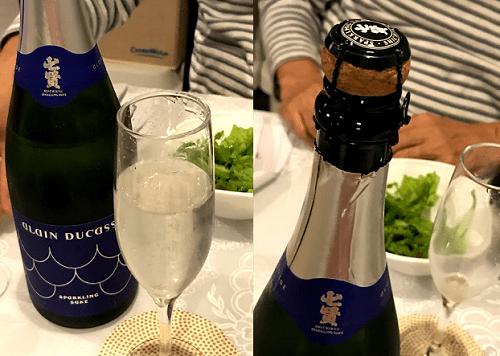 七賢 スパークリング アラン・デュカス ボトルの形状