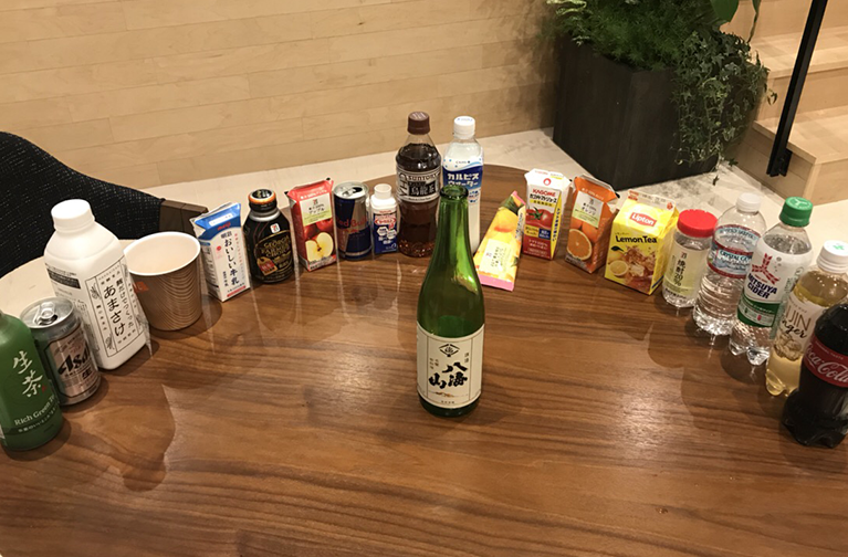 日本酒の割り方